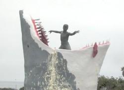 Shark attacks Cardiff Kook