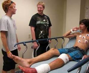 Caleb Kauchak shark attack victim