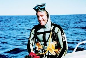 Peter Clarkson, abalone diver, killed in shark attack
