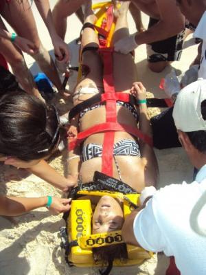Nicole Moore shark attack