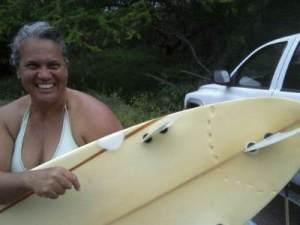 Theresa Fernandez - escapes shark attack