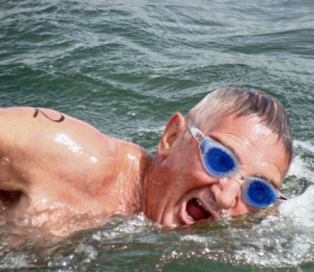 Burgert van der Westhuizen, 74, was killed by a shark while swimming off The Point at Jeffrey's Bay, South Africa.